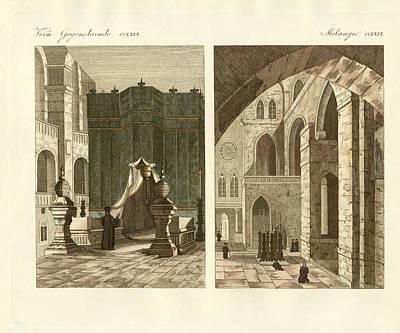 The Holy Sepulcher Of Jerusalem Art Print