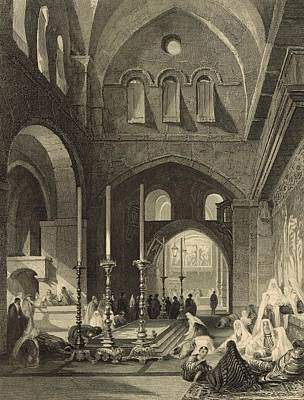 The Holy Sepulchre 1886 Engraving Art Print by Antique Engravings