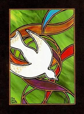 The Holy Spirit Print by Jim Harris