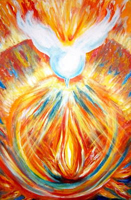 The Holy Spirit Within Art Print by Sister Rebecca Shinas