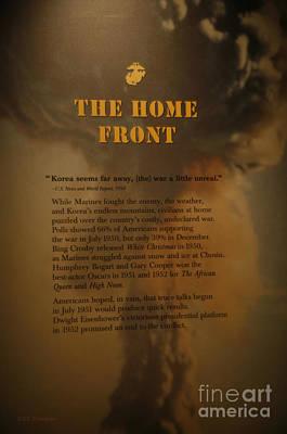 Photograph - The Home Front 1950 by Carol Lynn Coronios