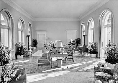 Florida House Photograph - The Home Of Mrs And Mrs. Wolcott Blair by Samuel H. Gottscho