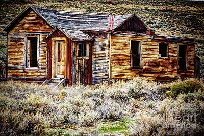 Marvelous Marble Rights Managed Images - The Homestead Part 2 Royalty-Free Image by Andrew Brooks