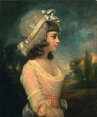 Gown Painting - The Hon. Theresa Parker, Later The Hon by Sir Joshua Reynolds