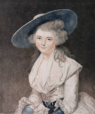 The Honourable Miss Bingham Art Print by Sir Joshua Reynolds