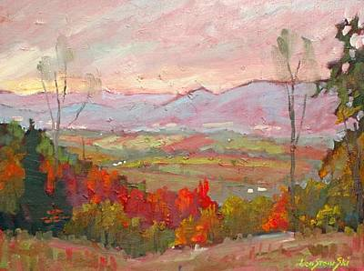 Painting - The Hoosac Valley by Len Stomski