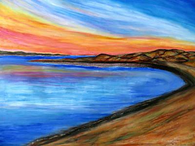 Pastel - The Horizon by Daniel Dubinsky