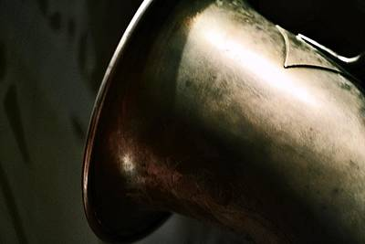 Photograph - Brass Sax - The Bell 2 by Nadalyn Larsen