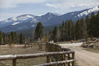 Photograph - The Horse Ranch by Amber Kresge