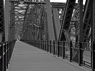 Photograph - The Hot Metal Bridge In Pittsburgh by Digital Photographic Arts