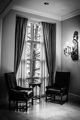 Photograph - The Hotel Lobby by Melinda Ledsome