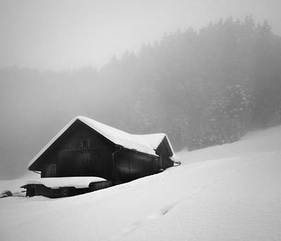 Art Print featuring the photograph The House In The Mountain by Antonio Jorge Nunes
