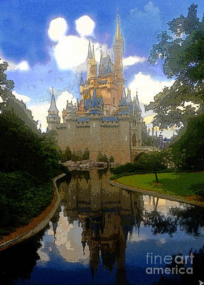 The House Of Cinderella Print by David Lee Thompson