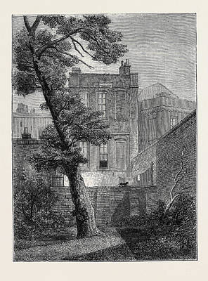 Sacred Art Drawing - The House Of Milton The Pretty Garden House In Petty by French School