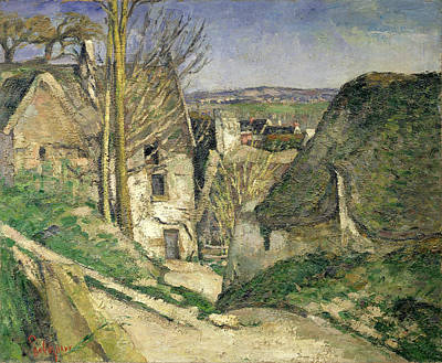 Post-impressionist Photograph - The House Of The Hanged Man, Auvers-sur-oise, 1873 Oil On Canvas For Details See 67878 & 67879 by Paul Cezanne