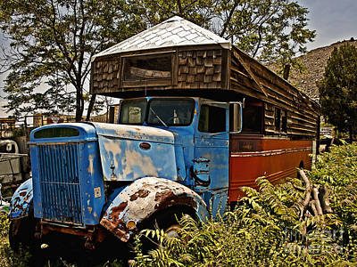 The House That Peterbilt Art Print