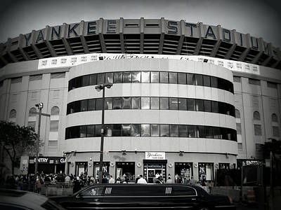 Yankees Photograph - The House That Ruth Built B/w by Aurelio Zucco