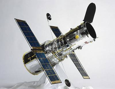 Hubble Space Telescope Photograph - The Hubble Space Telescope by Dorling Kindersley/uig