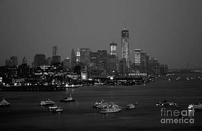 Photograph - The Hudson And Freedom Tower by Living Color Photography Lorraine Lynch