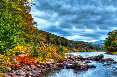 Photograph - The Hudson River In The Adirondacks by David Patterson
