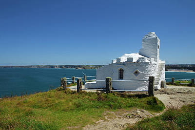 The Huers Hut, Newquay, Cornwall Art Print by Panoramic Images