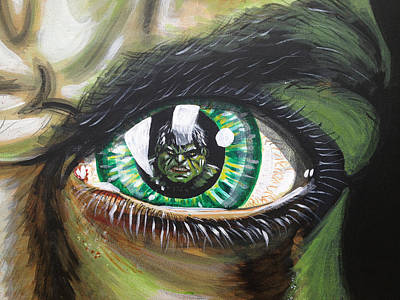 The Incredible Hulk Painting - The Hulk by Danny Anderson