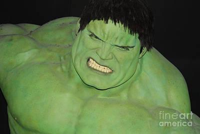 The Hulk Print by John Telfer