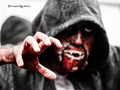 Photograph - The Human Devil Jaws by Stwayne Keubrick