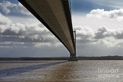 The Humber Bridge Art Print by Andrew Barke