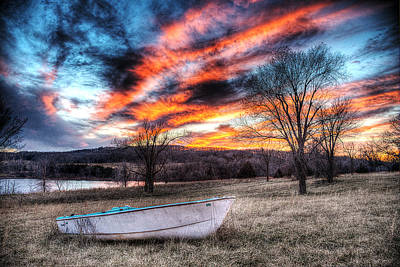 The Humble Boat Art Print by William Fields