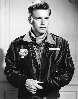 Windbreaker Photograph - The Hunters, Robert Wagner, 1958, Tm & by Everett