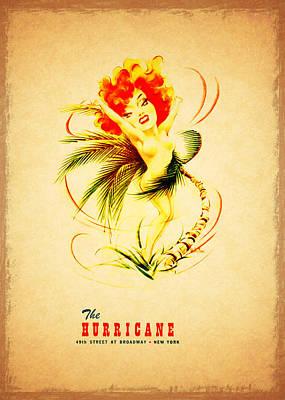 The Hurricane New York 1940s Art Print by Mark Rogan