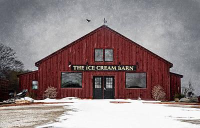 Photograph - The Ice Cream Barn by Robin-Lee Vieira