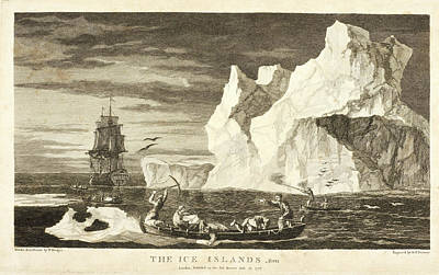 Ice-t Photograph - The Ice Islands by British Library