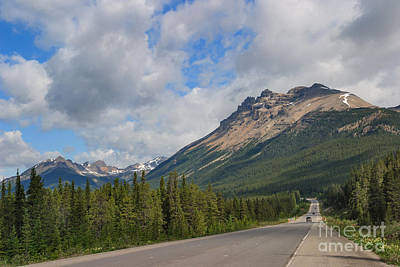 Photograph - The Icefields Parkway by Charles Kozierok