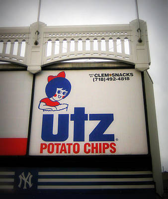 The Iconic Utz Sign Art Print