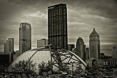 Civic Arena Photograph - The Igloo by John Duffy