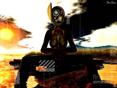 Future Tech Digital Art - The Illusion Of Progress by Sina Souza