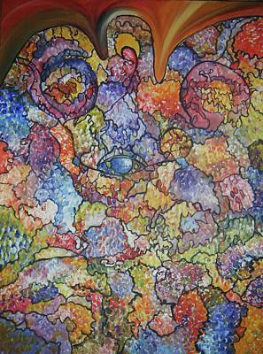 Colourful Painting - The Images That Appear Are Nothing But A Mirror by Catherine Eager