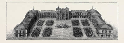 Tokyo Drawing - The Imperial College Of Engineering, Tokyo by Japanese School