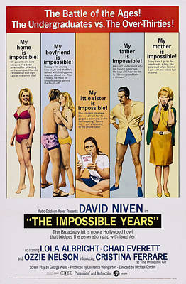 The Impossible Years, L-r Cristina Art Print