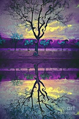 The Inconsistent Tree Art Print