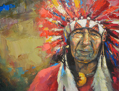 The Indian Chief Original by Dmitry Spiros