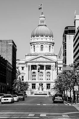 The Indiana State Capitol Building Original