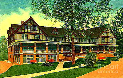 Painting - The Indianapolis In Country Club In 1914 by Dwight Goss