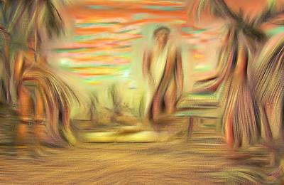 Digital Art - The Indians by Bob Pardue