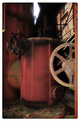 Photograph - The Industrial Tomb by Davina Washington
