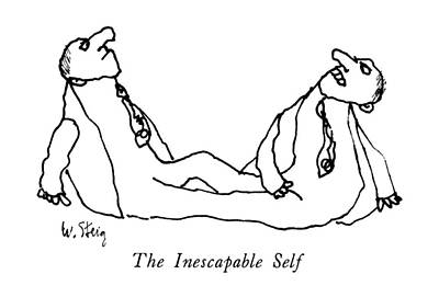 The Inescapable Self Art Print by William Steig