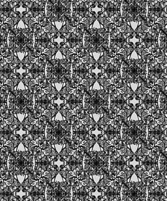 Digital Art - The Infinite Shoe Dove Grey by Deborah Runham