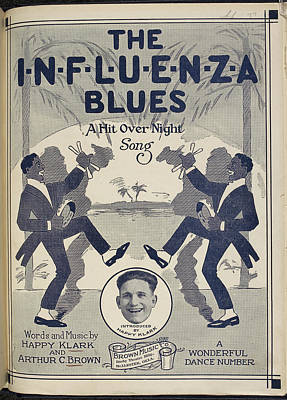 Book Title Photograph - The Influenza Blues by British Library